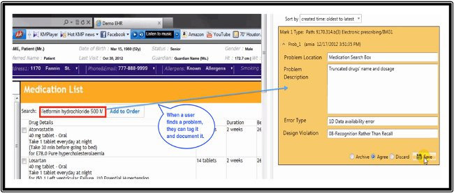 Turf Expert Markup Tool - Showing Problem and Documentation