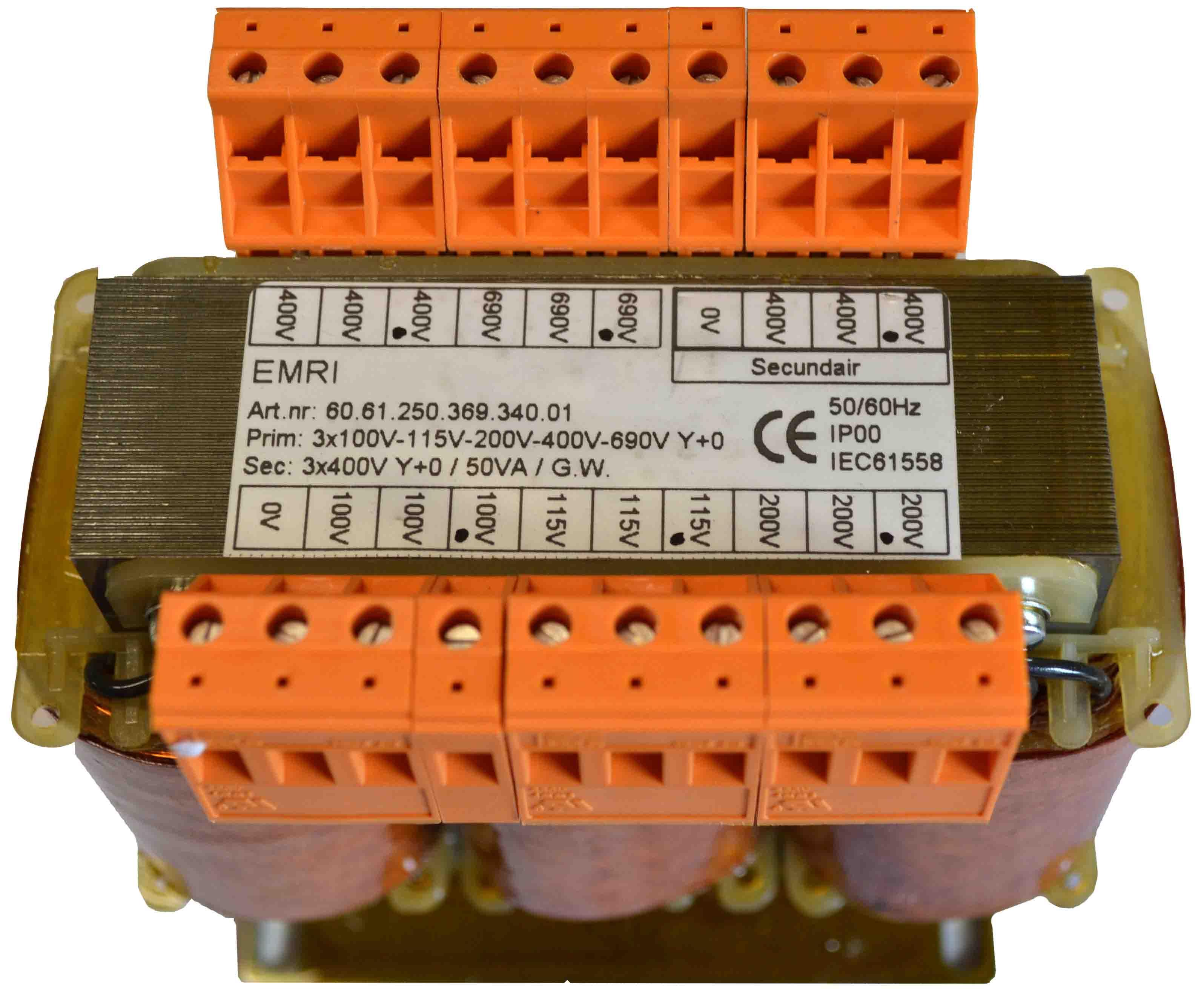 3 Phase Measuring Transformer