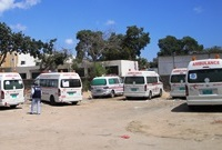 Man_stands_by_abandoned_ambulances_in_Yemen