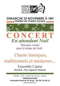 Concert 23 novembre 2014