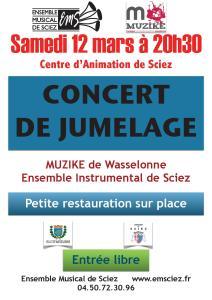 Concert 12 mars 2016