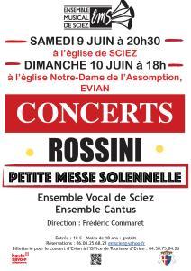 Concerts 9-10 juin 2018