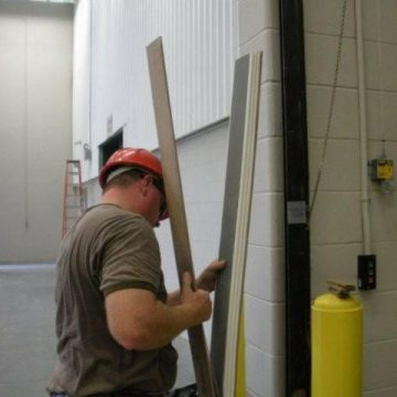 Fire rated wall expansion joint - GE Turbine EHSHIELD WFR2 Installation