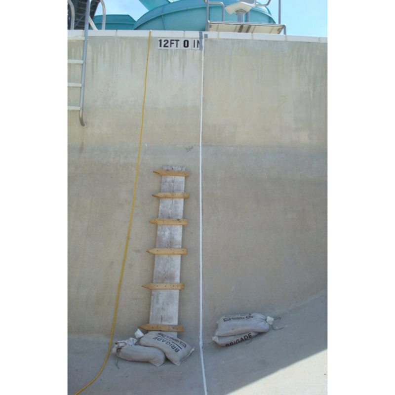 Sealing Joints In Swimming Pools Submerseal Handles The