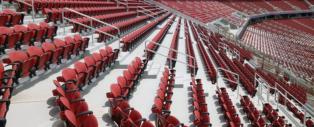 Stadium expansion joints SJS System EMSEAL levis 49ers