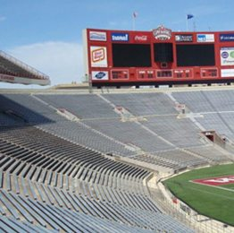 Stadium projects that feature expansion joint systems and products by EMSEAL.