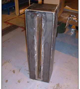 Test Fixture Prior to Installation of Expansion Joint