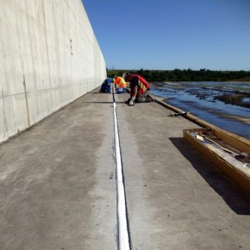 Infrastructure expansion joints, Submerseal, EMSEAL