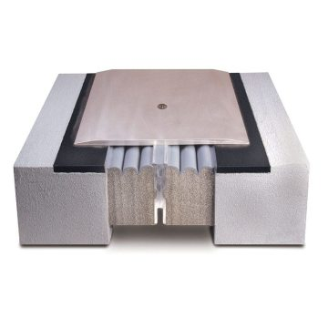 SJS System is a traffic-durable, non-invasively-anchored, watertight seismic expansion joint cover system