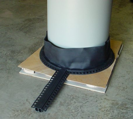 Thermaflex Parking Deck Expansion Joint from EMSEAL - Watertight