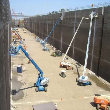 DSM Expansion Joint in Port Allen Locks