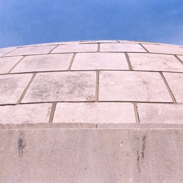 Colorseal Expansion Joint installed in Clinton Court House Dome