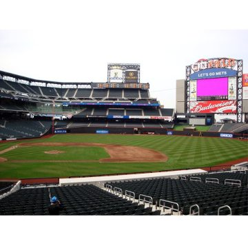 EMSEAL's SJS Seismic Joint System and Seismic Colorseal installed at New York Mets Citi Field.