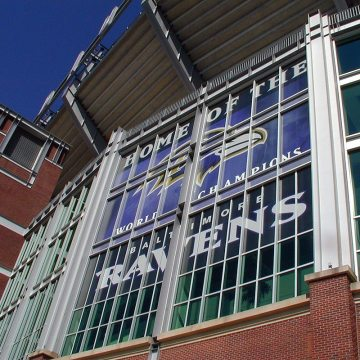 Thermaflex installation in M&T Bank Stadium, Baltimore Ravens