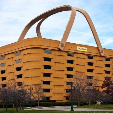 The designers of the Longaberger Basket Headquarters opted to backup the wet sealant with EMSEAL's BACKERSEAL material.