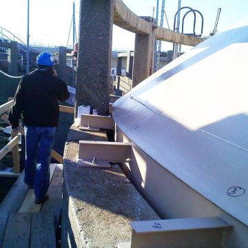 An integral component of its methane harvesting system, the Jamaica (NY) Waste Water Treatment Plant takes advantage of the DSM-DS dual-sided silicone seal.