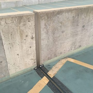 VA USPTO Parking Garage Expansion joints Thermaflex to Seismic Colorseal EMSEAL