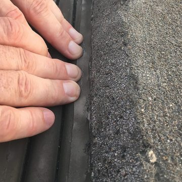 VA USPTO Parking Garage Expansion joints horizontal colorseal cornerbead test