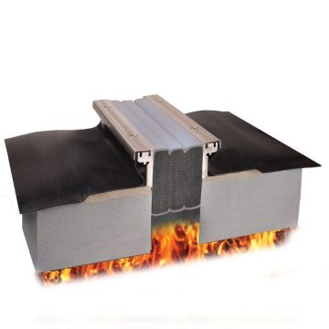 Fire rated plaza deck expansion joint Emshield DFR-FP from EMSEAL