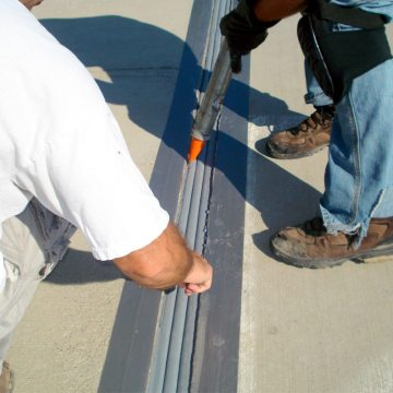 EMSEAL DSM SYSTEM Installation into Concrete Expansion Joints Finished
