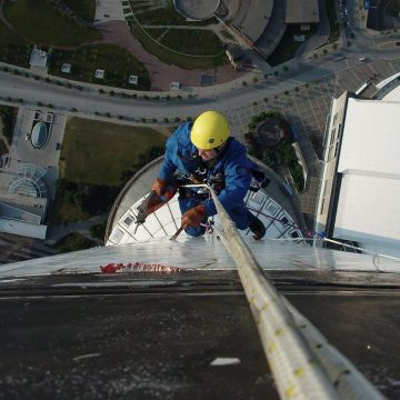 GFRP panel expansion joint removal, repair and replacement using Colorseal