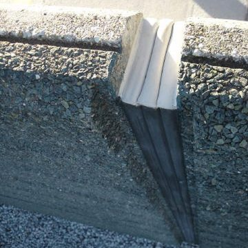 Parapet expansion joint Seismic Colorseal-DS Triple Sided EMSEAL