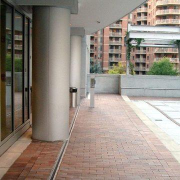 MD Francis Newlands Building plaza deck expansion joint Migutan EMSEAL