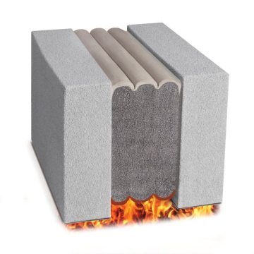 Pick resistant fire rated expansion joint Emshield SSF3 from EMSEAL