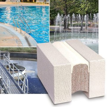 EMSEAL Submerseal is ideal for fountains, potable water, wastewater treatment plants (WWTP), and other submerged applications.