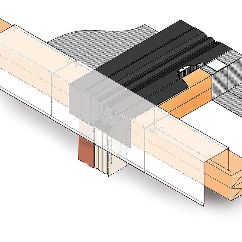 Roof Expansion Joint, RoofJoint - Watertight, Dual-Seal from EMSEAL