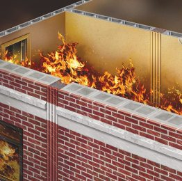 Fire-rated Wall and Deck Expansion Joints by EMSEAL