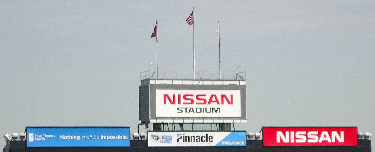 Tennessee Titans Nissan Stadium Emseal stadium expansion joint retrofit