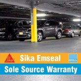 Sika/Emseal Sole Source Traffic Deck Waterproofing and Expansion Joints