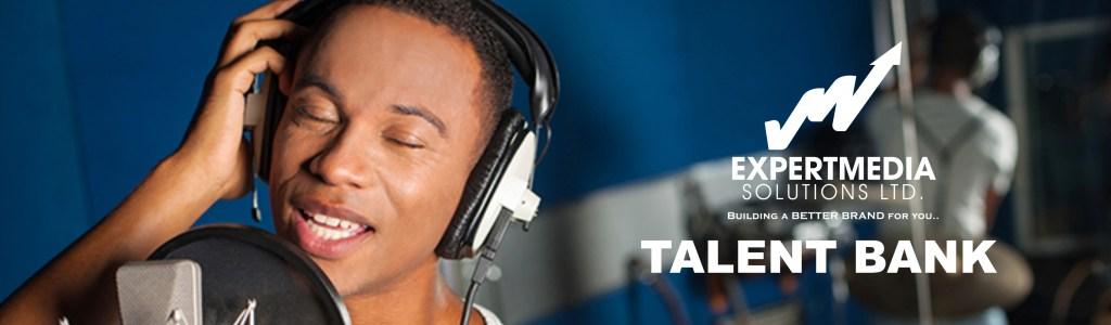 Expert Media Solutions Talent Banner