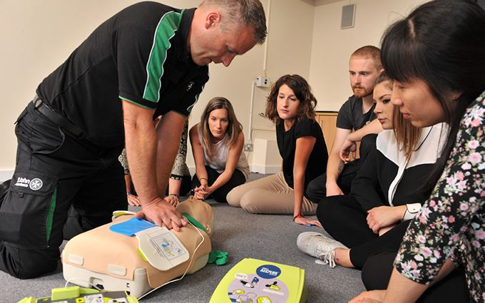 Emergency First Aid at Work training London