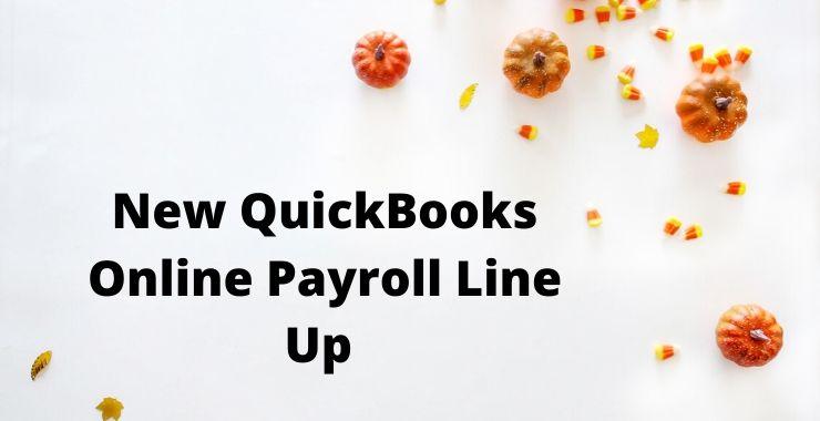 QuickBooks Online Payroll Line Up