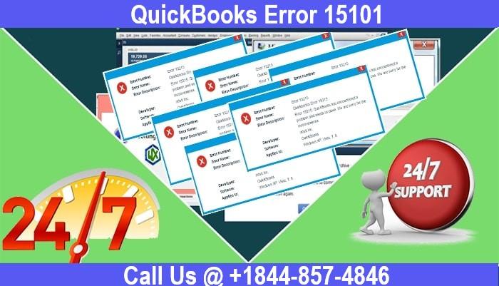 QuickBooks Error 15101