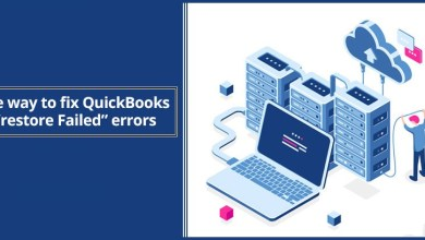 "Photo of Backup of QuickBooks File ""Restore Failed"" Error"