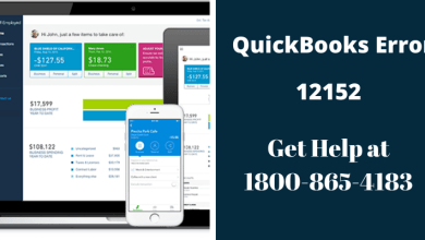 Photo of QuickBooks Error 12152 : Dial 1800-865-4183 for Help