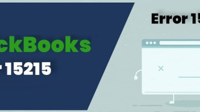 Photo of Fix QuickBooks Error 15215 – Proved Solution