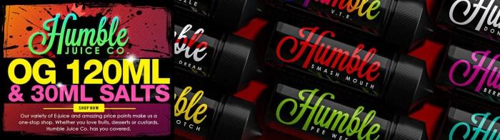 e-juice flavors
