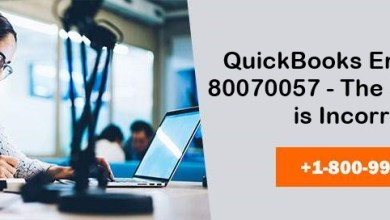 Photo of Effective Ways To Fix QuickBooks Error 80070057