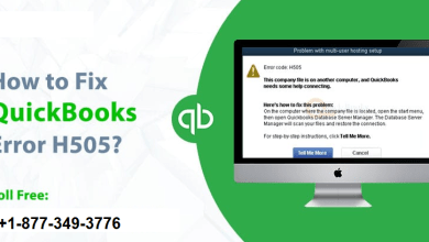 Photo of Easy Methods To Troubleshoot QuickBooks Error Code H505