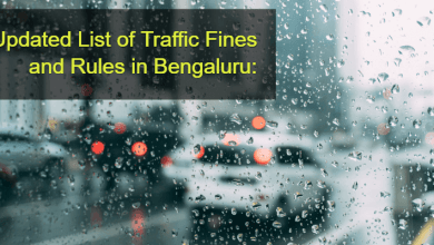 Photo of Check The Revised List Of Traffic Fines In Bangalore