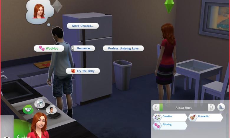 Sims 4 woohoo mods