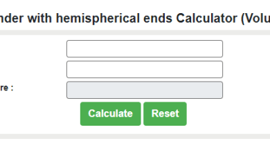 Photo of Best Volume of Cylinder with Hemispherical Ends Calculator
