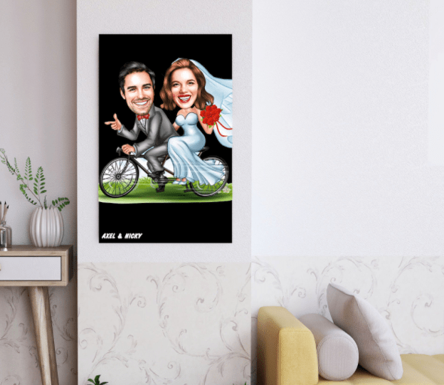personalized wedding photo wall arts gifts