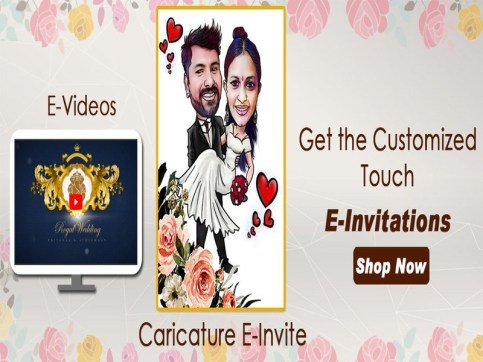 online wedding invitation video and wedding invitation card from lovely wedding mall