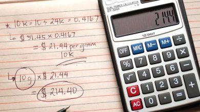 Photo of Scrap gold calculator for ADSY