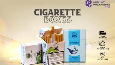 Photo of Unique Cigarette Boxes for Better Sales